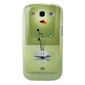 Buy IMD Tecknical Buddhism Series Lotus Pattern Plastic Hard Case for Samsung Galaxy S3 I9300
