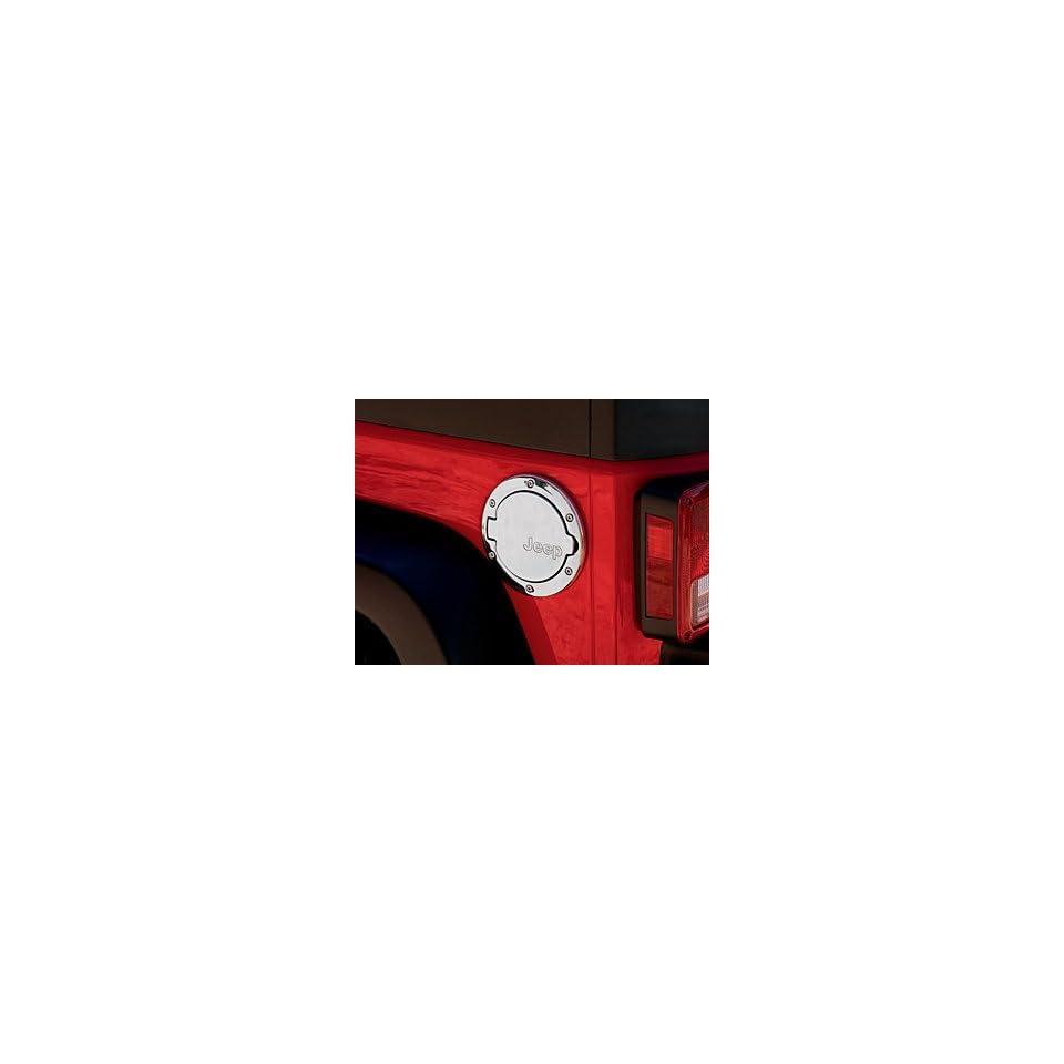 Jeep Wrangler 4 Door Chrome Fuel Filler Door