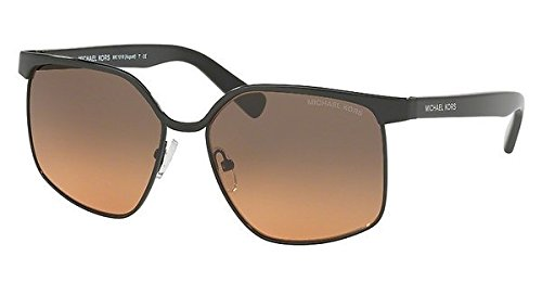 Michael Kors MK1018 (August) 114618 Black with Grey Orange Gradient Lenses 56MM