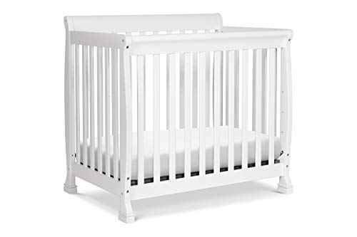 DaVinci Kalani 2-in-1 Mini Crib and Twin Bed In White ()