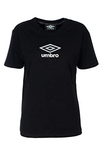 Umbro T-Shirt Long Sleeve Woman Jersey U0067 l Black