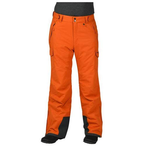 Arctix Men& 039;s Men& 039;s Snow Sports Cargo Pants, Burnt Ginger, Small