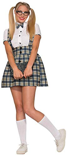 Forum Novelties Women's 50's Nerd Girl Costume, Multi, X-Small/Small -