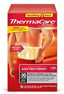 Review Thermacare Heatwraps Lower Back & Hip, L-XL- SPECIAL LIMITED PACK OF 9 Count