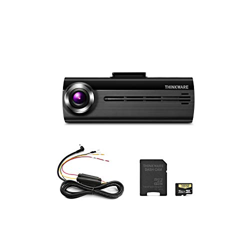 THINKWARE FA200 Dash Cam Bundle with Hardwiring Cable (No Cigarette Power Cable), 16GB MicroSD Card Included, Built-in WiFi, Time Lapse