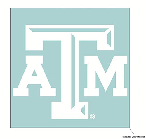Wincraft NCAA Texas A&M University Aggies 6 x 6 inch White ()