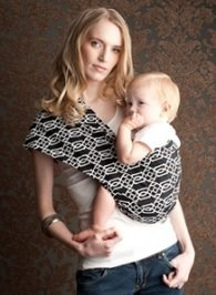 Everyday Baby Sling (Seven Everyday Slings Infant Carrier Baby Sling Solitaire Black Size 6 Xlarge)
