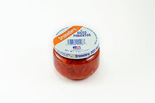 Dromedary 4 Ounce Jar Diced Pimientos, 24Pack by Dromedary