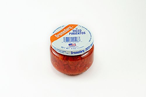 Dromedary 4 Ounce Jar Diced Pimientos, 24Pack