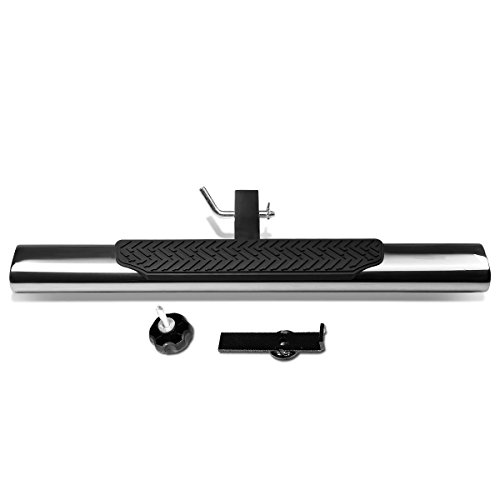 DNA Motoring HITST-2-4O-111-SS-T2 Class III 4″ Oval Hitch Step