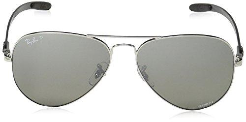 Ray Shiny 8317CH Sonnenbrille RB Ban Silver IwPqZrI1