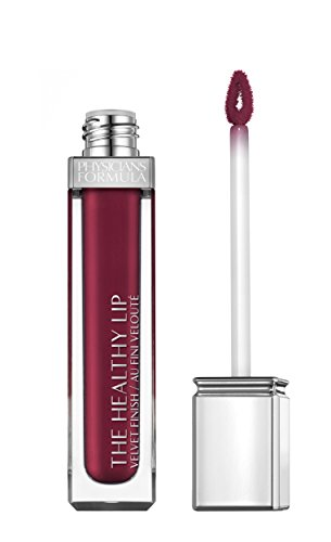 Physicians Formula The Healthy Lip Velvet Liquid Lipstick, Noir-ishing Plum, 0.27 Ounce (Pack of 2)