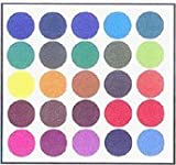 The Original Chartpak AD Markers, Tri-Nib, 25 Assorted Basic Colors in Tabletop Cube, 1 Each (A)