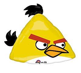 DollarDays FBA_222147 Yellow Angry Bird Mylar