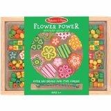 Melissa & Doug, Bead Set Flower Power