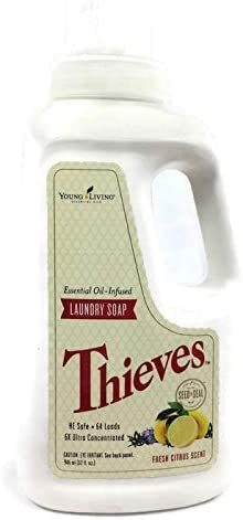 Thieves Essential Oil Infused 6x Ultra Concentrated Laundry Soap