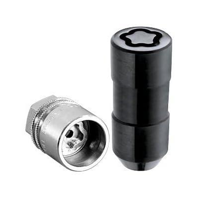McGard 24220 Black Cone Seat Wheel Locks (M14 x 1.5 Thread Size) - Set of 4: Automotive