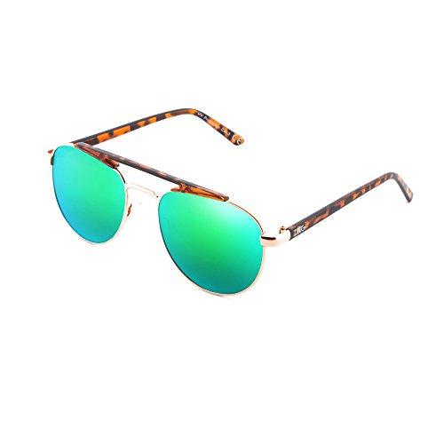 espejo Verde mujer sol Gafas de hombre PROUST Tortuga TWIG aviador TznvHXwq