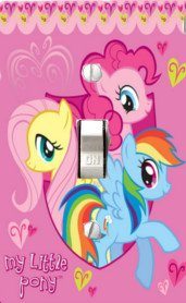 Got You Covered My Little Pony Light Switch Cover