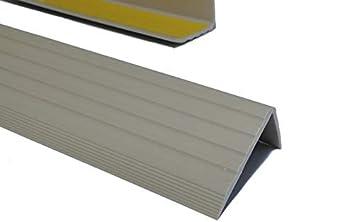 Schwarz PVC Treppenkantenprofil Winkelprofil Treppenkante 41x25mm 1,30m Selbstklebend
