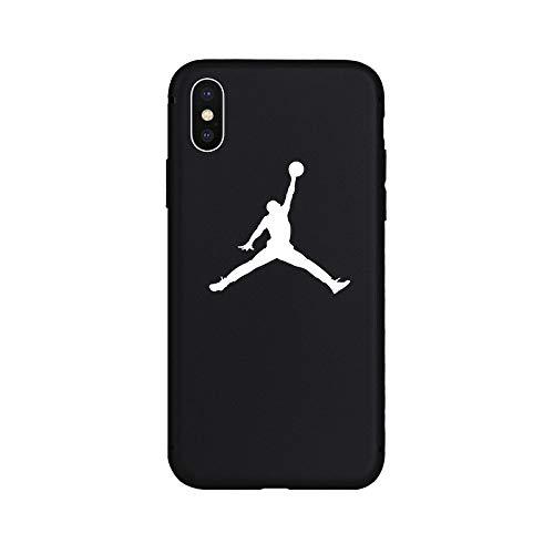 1 piece Jordan AIR Sport Culture Fashion Brand NEW Soft Case for iPhone 6 6Plus 6s 6sPlus 7 7Plus 8 8Plus X Xs XR Xs Max 5s Coque Cover (Coque Iphone)