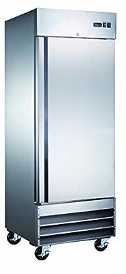 Single Door Commercial Reach In Stainless Steel Freezer CFD-1FF