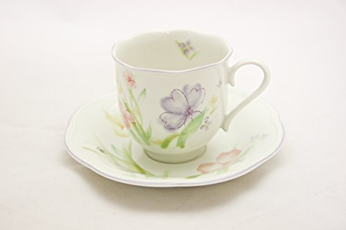 Mikasa Water Colors Teacup and Saucer