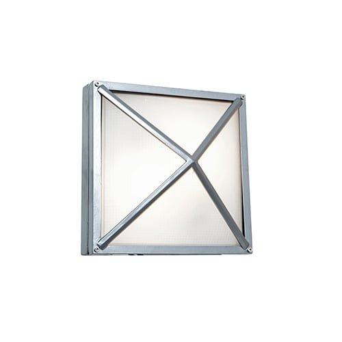 Access Outdoor Lighting (Access Lighting 20330MG-SAT/FST Oden 2 Light 10-1/4