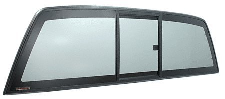 [CRL Tri-Vent Three Panel Perfect Fit Truck Slider with Solar Glass 2004 Ford F-150 by CRL] (Fit Three Panel Tri Vent)