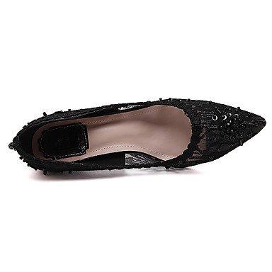 Printemps Femme formelles black Evénement Chaussures à Soirée Chaussures Mariage Eté Talons amp; Dentelle Habillé BillesTalon formelles LvYuan ggx Chaussures 8qw5axCnB