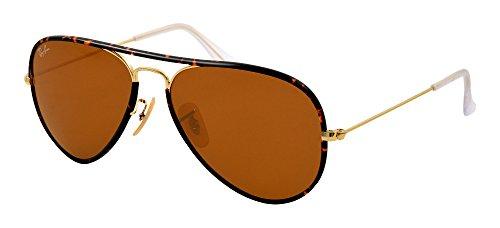 ray-ban-mens-rb-3025jm-001-tortoise-gold-frame-brown-lens-aviator-58mm-sunglasses