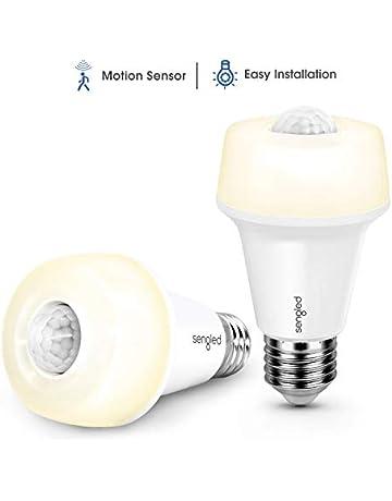 Sengled Bombilla LED Sensor Movimiento E27 Bombilla Infrarrojo Inteligente Auto Encendido/Apagado Luz blaco suave