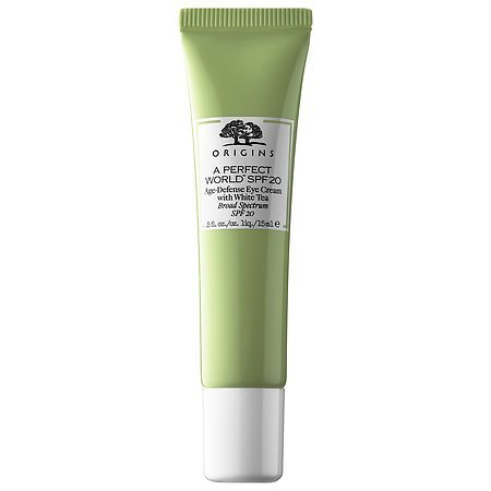 Origins A Perfect World SPF 20 Age-Defense Eye Cream with White Tea .5 fl. oz / 15ml - Unboxed (Best Eye Cream With Spf)