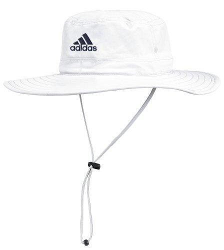 Michigan Wolverines Adidas Sideline UV Protective White Safari Hat