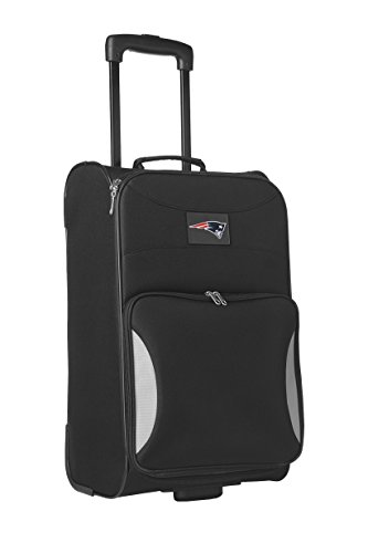 nfl-new-england-patriots-steadfast-upright-carry-on-luggage-21-inch-black