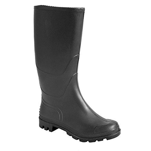 Portwest FW90 - No es de seguridad Wellington, color Negro, talla 48 Negro
