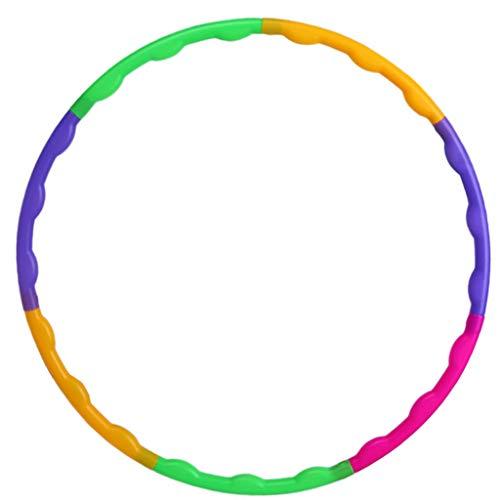 Lemong Hula Hoop Desmontable para ni/ños 25.6/Ejercicio ni/ños peque/ños Hula Hoop para Deportes /& Jugar