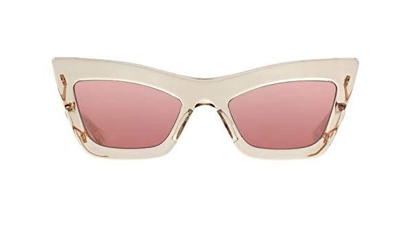 Gafas de Sol Dita ERASUR TRANSPARENT PINK ROSE GOLD/PINK ...