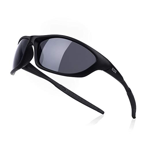 69e919ee4e9 O2O Polarized Sports Sunglasses Tr90 Frame Sport Sunglasses for Men Women  Teens Comfortable and Fit for Running Golf Driving Baseball Softball  Cycling ...