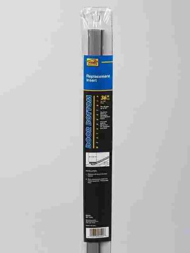 M D 05520 36u0026quot; Gray Vinyl Door Sweep Replacement Inserts