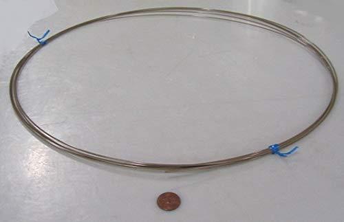Natural PEEK Round Tubing.062