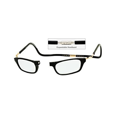 6da6db6917 Buy CliC CLIC GOGGLES BLACK XXL 150 READING GLASSES MAGNETICALLY CLIC (BLACK  XXL 150) - by CliC Online at Low Prices in India - Amazon.in