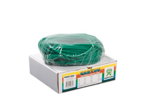 100' Low Powder Exercise Tubing Size / Color: Medium / Green