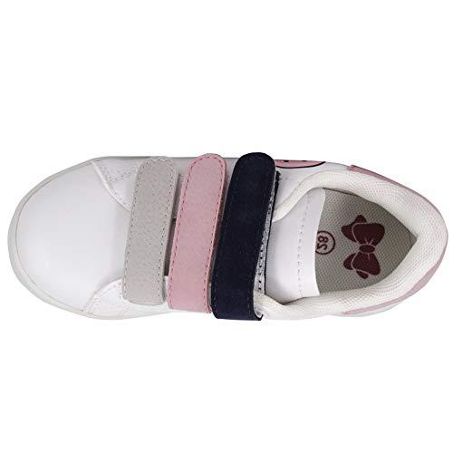 Pictures of Deesha Kids' Runner Sneaker (11M Pink) Pink 11 M US 5
