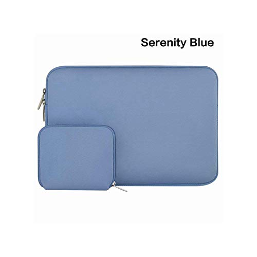 Laptop Bag Case Notebook Sleeve 11.6 12 13.3 14 15.6 Inch for Xiaomi MacBook Air Pro Dell Asus Hp Acer Laptop Case Women,Serenity Blu -  Longbao, eLHk5y5ii8xgAPLJ-obd-7