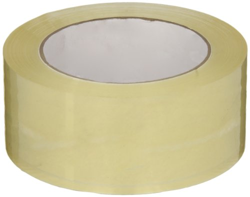 Intertape Polymer Group G8180 400 Emulsion Acrylic Medium Grade Carton Sealing Tape, 2.1 mil Thick x 100M Length x 48mm Width, Clear, Case of 36 Rolls