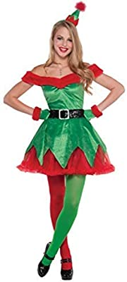 Fancy Me me Mujer Sexy pequeño ayudante de Papá Noel Navidad ...
