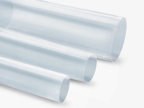 PTFE Heat Shrink Tubing, Natural AWG 12, tw - 48