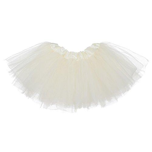 My Lello Baby 5-Layer Ballerina Tulle Tutu Ivory