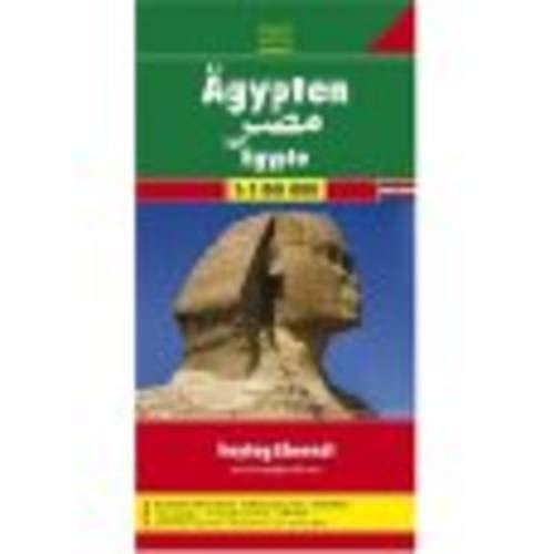 Ägypten 1   800 000  Mit Ortsregister. Citypläne. Touristische Informationen